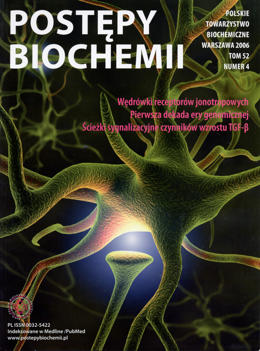 Postepy Chemii journal cover